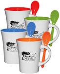 10oz Blanco Spooner Mugs